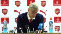 Arsene Wenger reaction Arsenal vs Everton