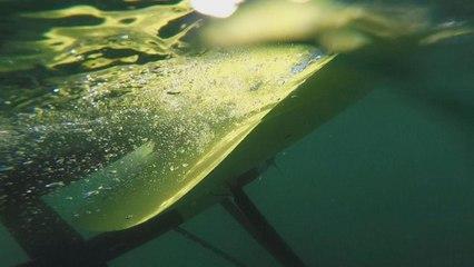 Летючий підводний змій для отримання енергії з океану