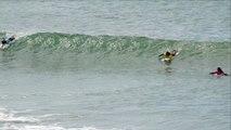 Adrénaline - Surf : La meilleure vague du deuxième jour des Mondiaux ISA de surf à Biarritz pour Johane Defay