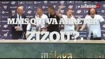 Zidane champion d'Espagne avec le Real Madrid