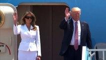 Il presidente Usa, Donald Trump è arrivato in Israele
