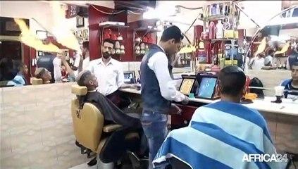 Egypte: A la découverte d'un salon de coiffure atypique
