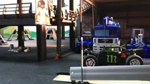 RC BRUDER TRUCKS videos TOYS POLICE Action Racing JEEP--m