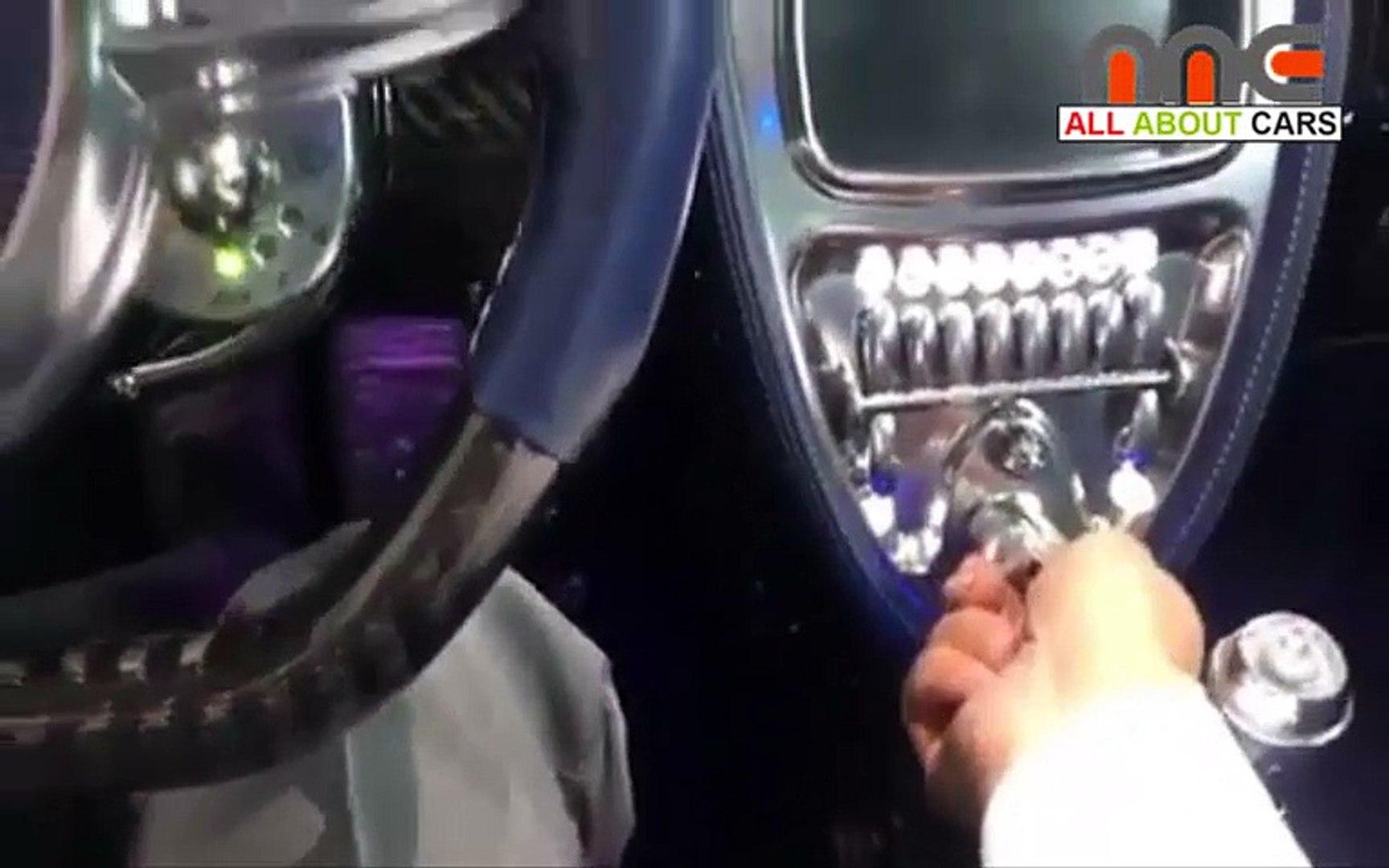 Pagani Huayra Interior Video Dailymotion