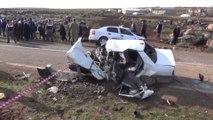 Siverek'te feci kaza 4 ölü, 5 yaralı \ 19 01 2015 \ ŞANLIURFA
