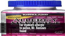Researchers found that compared with those with no allergy symptoms, British students who report allergies or take allergy medications during their