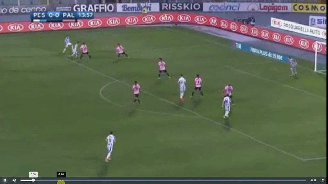 Robert Muric Goal - Pescara vs US Palermo 1-0  22.05.2017 (HD)
