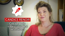 Cécile Bois réagit aux épisodes 7 et 8 de Candice Renoir (VIDEO)