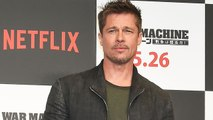 Brad Pitt Looks as Thin and Handsome as Ever While Promoting 'War Machine' in Tokyo