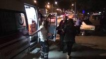 Otomobilin motosiklete çarpması sonucu bir kişi yaralandı \ 19 05 2015 \ GAZİANTEP