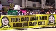 Mersin'de PKK ve uzantılarına lanet yağdı \ 12 06 2015 \ MERSİN