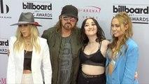 Billy Ray Cyrus, Tish Cyrus, Noah Cyrus, Brandi Cyrus 2017 BBMAs