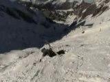 Chute ski - Paulo - Les Bronzes d'Aigle Azur font du Ski