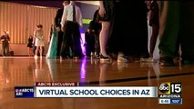 Online schools arrange events including prom for students