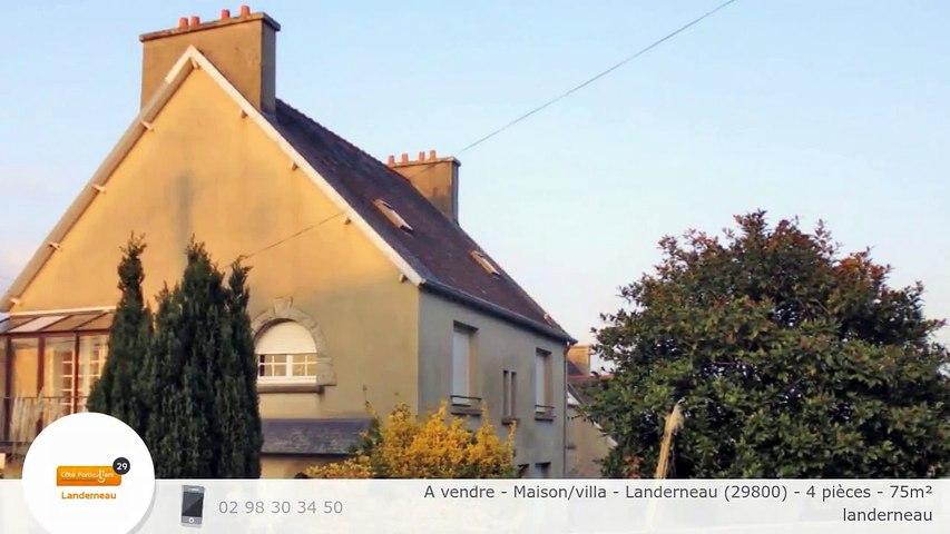 A vendre - Maison/villa - Landerneau (29800) - 4 pièces - 75m²