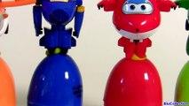Learn Colors with SUPER WINGS SURPRISE EGGS 출동 슈퍼윙스 ! 디즈니 계란 장난감 서프라이즈 Children Toys-6Q