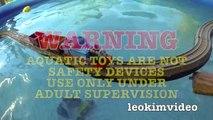 Thomas The Tank Pool Tracks Big Layout Train Crashes BoCo Bee & Shark Attack-E_miV