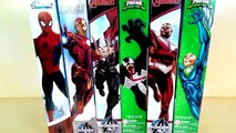 Superhero marvel toys, Titan hero series, superhero Spiderman vs Venom vs Iron man, hot kids toys-BQ