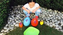 Swimming Baby Animals Egg Surprise _ Learn Letters, Real Animals-yTZs