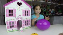 Big Purple Egg Surprises Golden Kinder Surprise Egg Toys HELLO KITTY DOLL HOUSE PLAYSET Frozen Anna-IlpQYvuo
