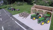 BRUDER RC tractor wood crash-ew8cP