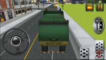 City Garbage Truck Driver - Keep Your City Clean l For Kids-Xy