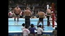 Kengo Kimura/Shiro Koshinaka vs Osamu Kido/Shinya Hashimoto (New Japan August 11th, 1992)