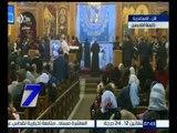 الساعة السابعة   ألحان قداس عيد الميلاد المجيد بكنيسة القديسين بالإسكندرية