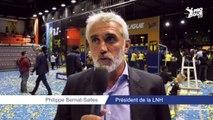 Philippe Bernat-Salles fécilite le Tremblay-en-France Handball