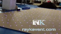 White LED dance floor for party events