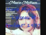 """Marie Myriam """"L'oiseau et l'enfant"""" 1977"""