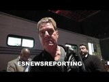 joe goossen on king tug the next superstar in boxing - EsNews Boxing