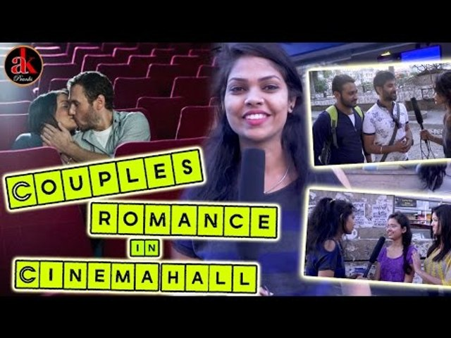 Couples Romance In Cinema Hall || Watch Every Couples || Very Funny Couple Pranks 2017 | Ak Pranks