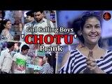Girl Calling Boys 'CHOTU' Prank In Public || Ak Pranks || Viral Comedy Pranks Video 2017