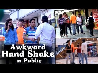 Akward Hand Shake In Public || Verry Funny Hand Shake Prank 2017 || Ak Pranks