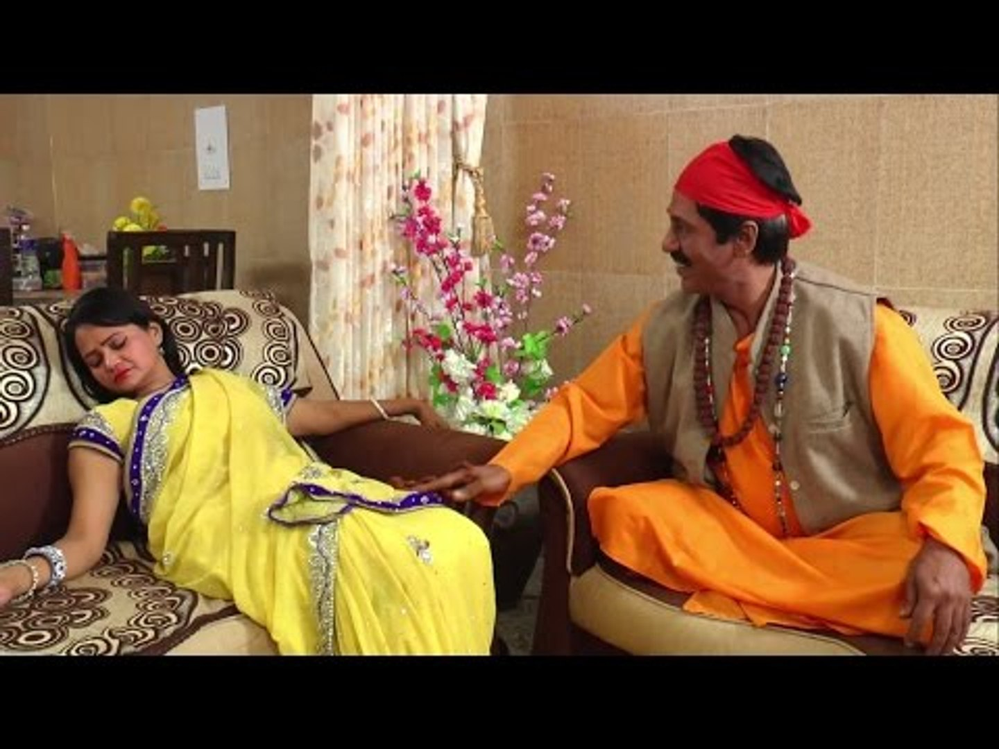 Dhongi Baba With Housewife - Blackmailer Tantrik Baba Hindi Short film