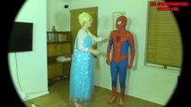 Elsa and Spiderman America Got Talent W_ Peppa Pig and Maleficent-exwW