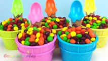 Skittles Candy Ice Cream Surprise Toys Learn Colors Play Doh Strawberry Pooh Bear Peppa Pig Elephant-8_