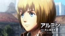 Attaque femelle Jeu officiel sur bande annonce contre titan PS4 4 titan Eren titan gameplay Attaque sur Titan