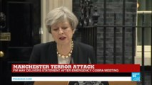 """""""The spirit of Manchester will never be broken!"""" - PM May delivers speech on terror attack"""