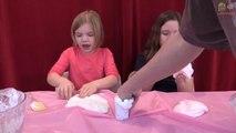 SLIME FARTS! Kids How To Make FARTING SLIME DIY!  How To Babyteeth4-gLz1O4EI