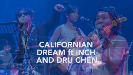 bittymacbeth Ft. iNCH & Dru Chen - Californian Dream - Live at Esplanade Recital Studio