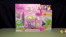 DISNEY PRINCESS MUSICAL DANCING PALACE! _ Belle & Cinderella Little People _ Bin's Toy Bin-cHXkLcJ