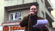 Özgür Gündem Gazetesi Ağrı'da da tel'in edildi / 11 03 2016 / AĞRI