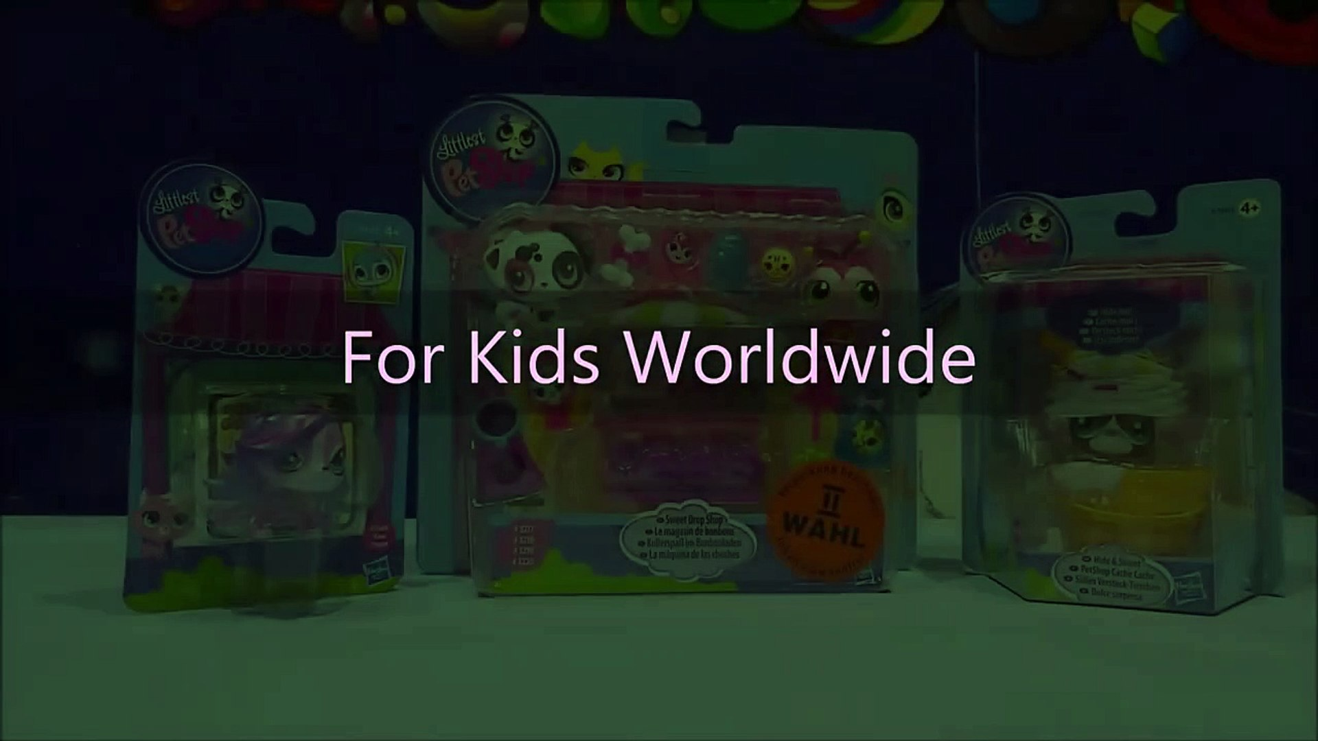 LPS Toys Littlest Pet Shop Review Video Sweet Drop Shop & LPS Hide & Sweet With Zoe Trent by