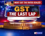 Most GST Rates Sealed
