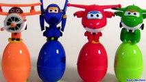 Learn Colors with SUPER WINGS SURPRISE EGGS 출동 슈퍼윙스 ! 디즈니 계란 장난감 서프라이즈 Children Toys-6