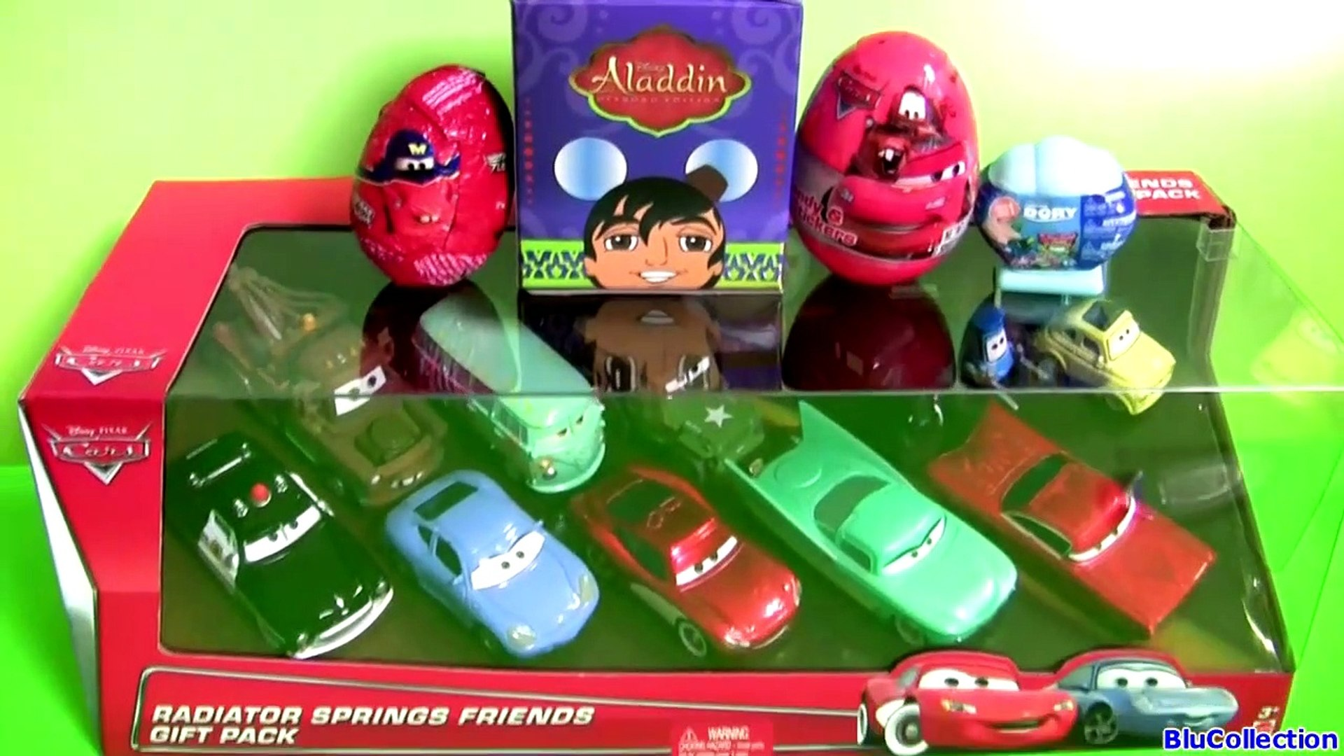 Disney Cars Radiator Springs Friends 11 Cars Gift Pack Collection Exclusive Lizzie With Radio Xcafrh Video Dailymotion