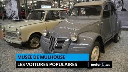Musée de Mulhouse - Les voitures populaires