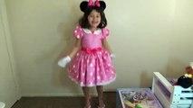 7 Halloween Costumes Disney Dress Up Minnie Mouse Mal Dory  Alice in Wonderland-ew5
